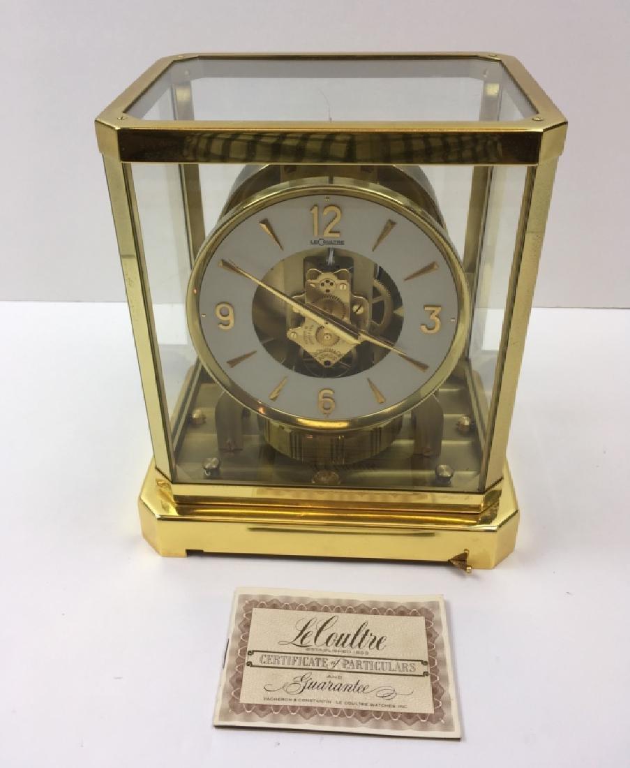 20TH MID-CENTURY LECOULTRE CLOCK ATMOS CLOCK