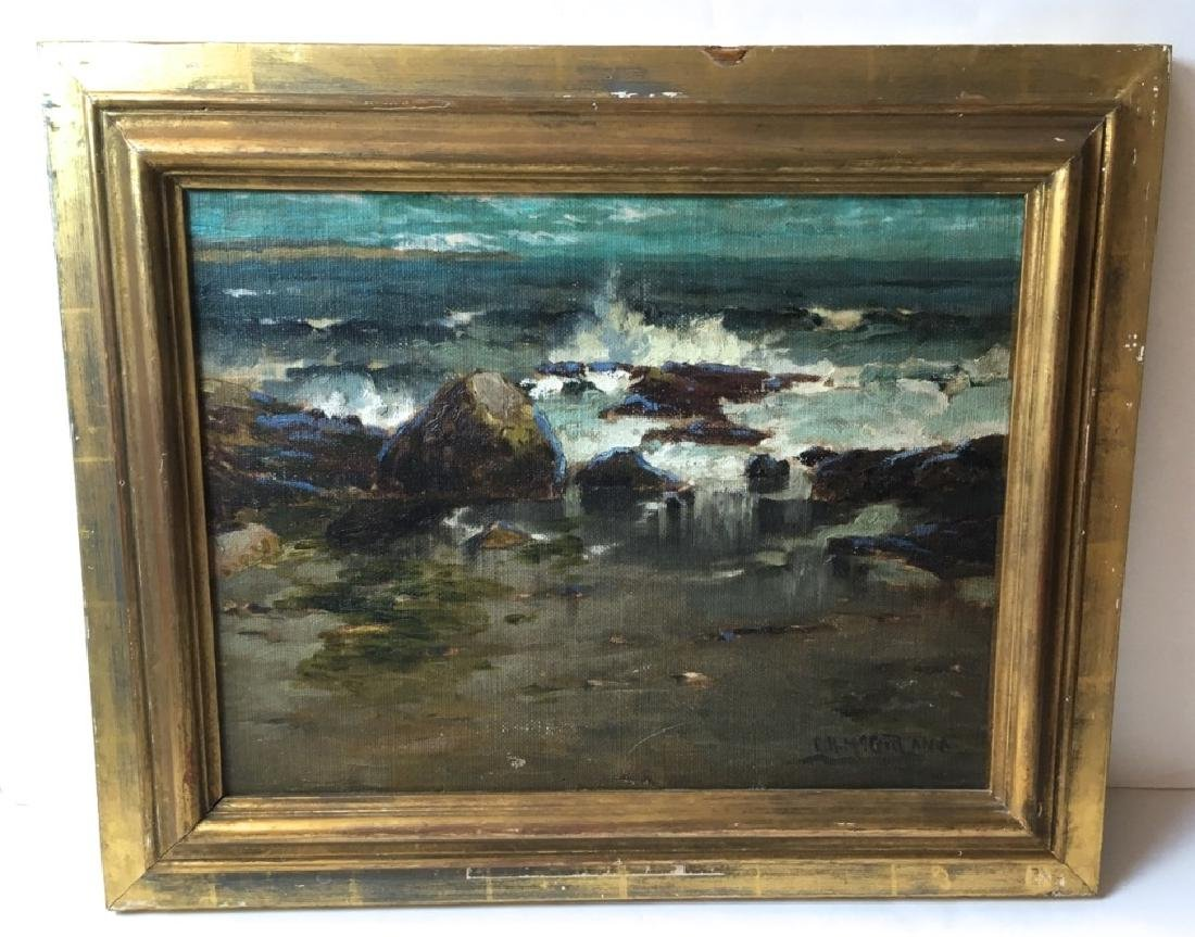 FRAMED OIL ON CANVAS SIGNED G. H. MCCORD