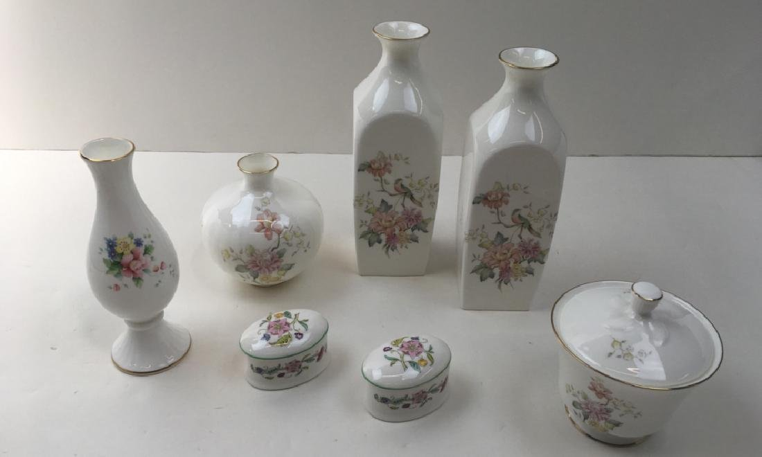 6 PCS OF MINTON & ROYAL DOULTON PORCELAIN