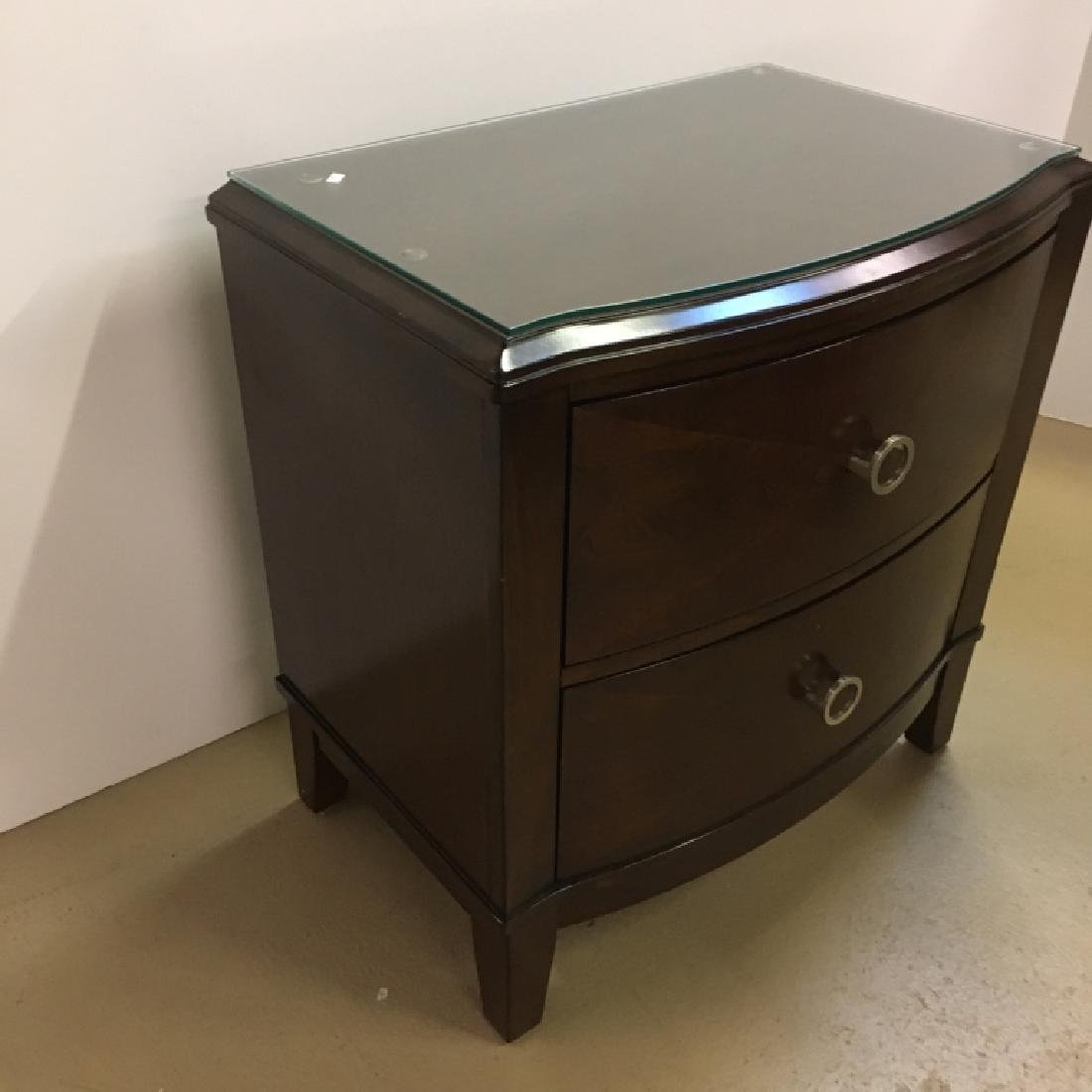 MODERN STYLE TWO DRAWER CHEST - 3
