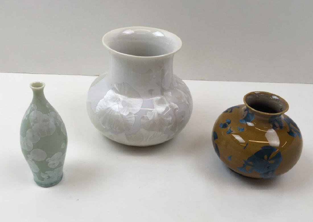 6 PCS OF CONTEMPORARY ART POTTERY - 9