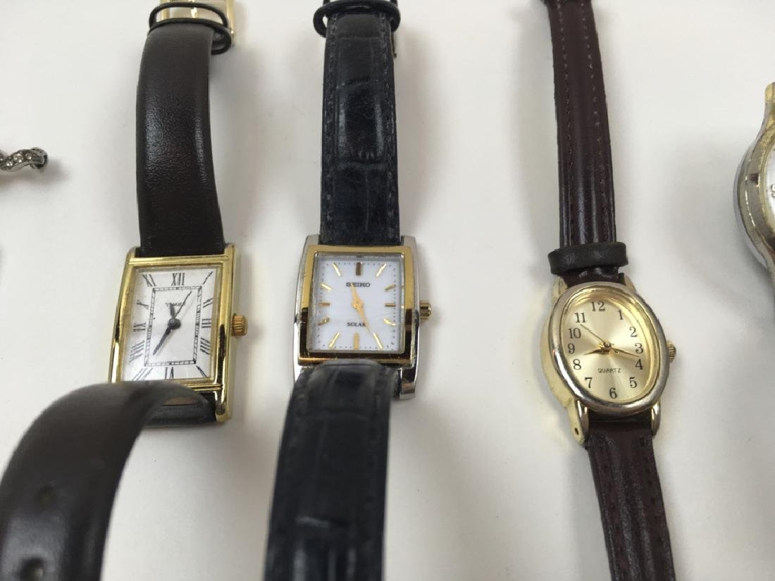 11 PCS - WATCHES & LEATHER WATCH BAND - 10