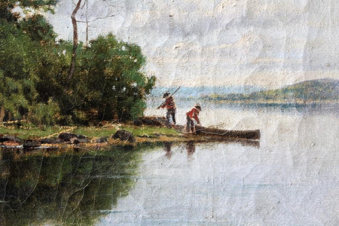 OIL ON CANVAS BY C. DAVIDSON