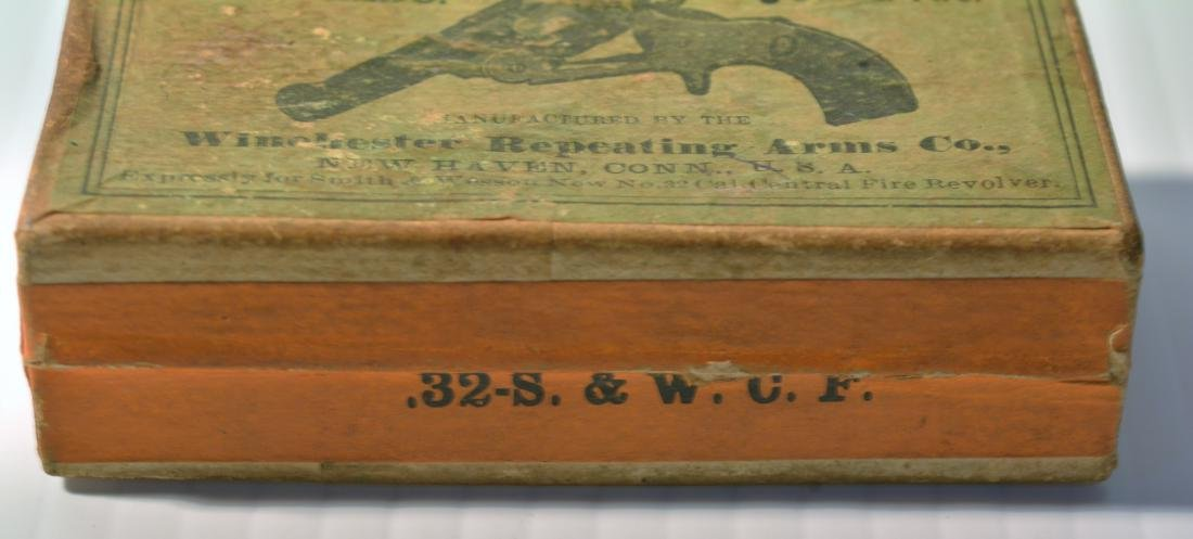 OLD WINCHESTER REPEATING ARMS .32 CALIBER BOX - 5