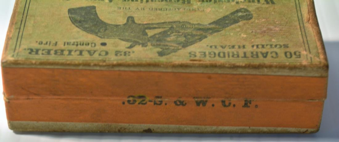 OLD WINCHESTER REPEATING ARMS .32 CALIBER BOX - 7