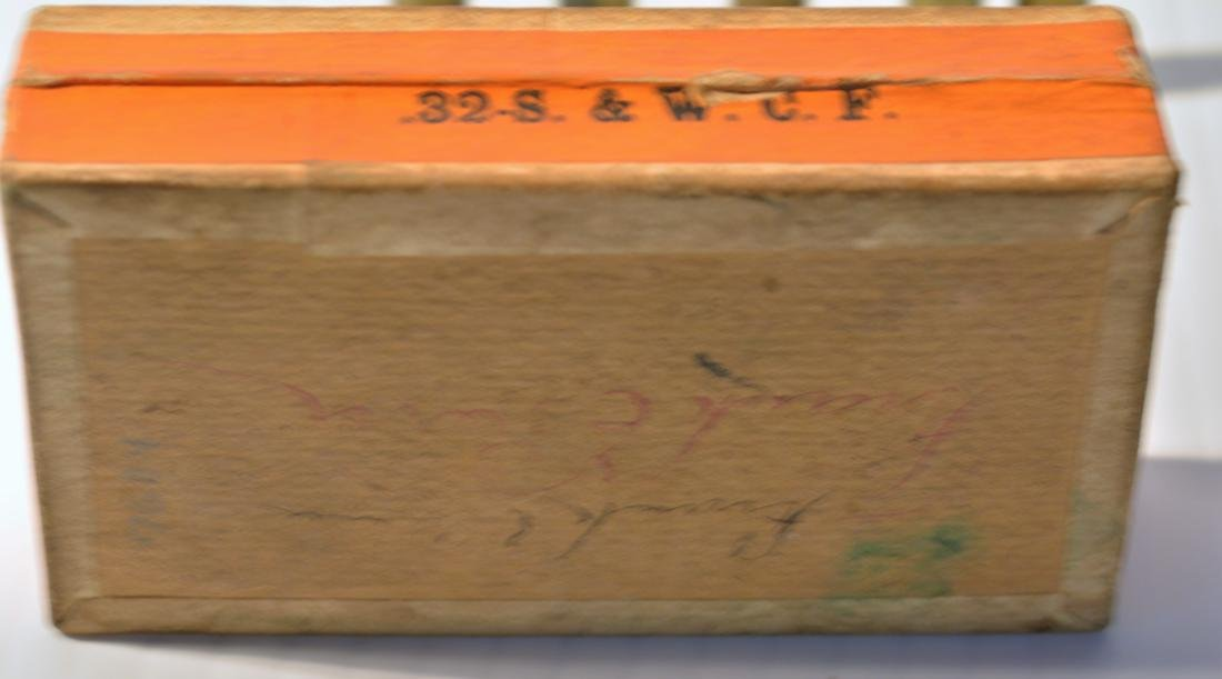 OLD WINCHESTER REPEATING ARMS .32 CALIBER BOX - 9