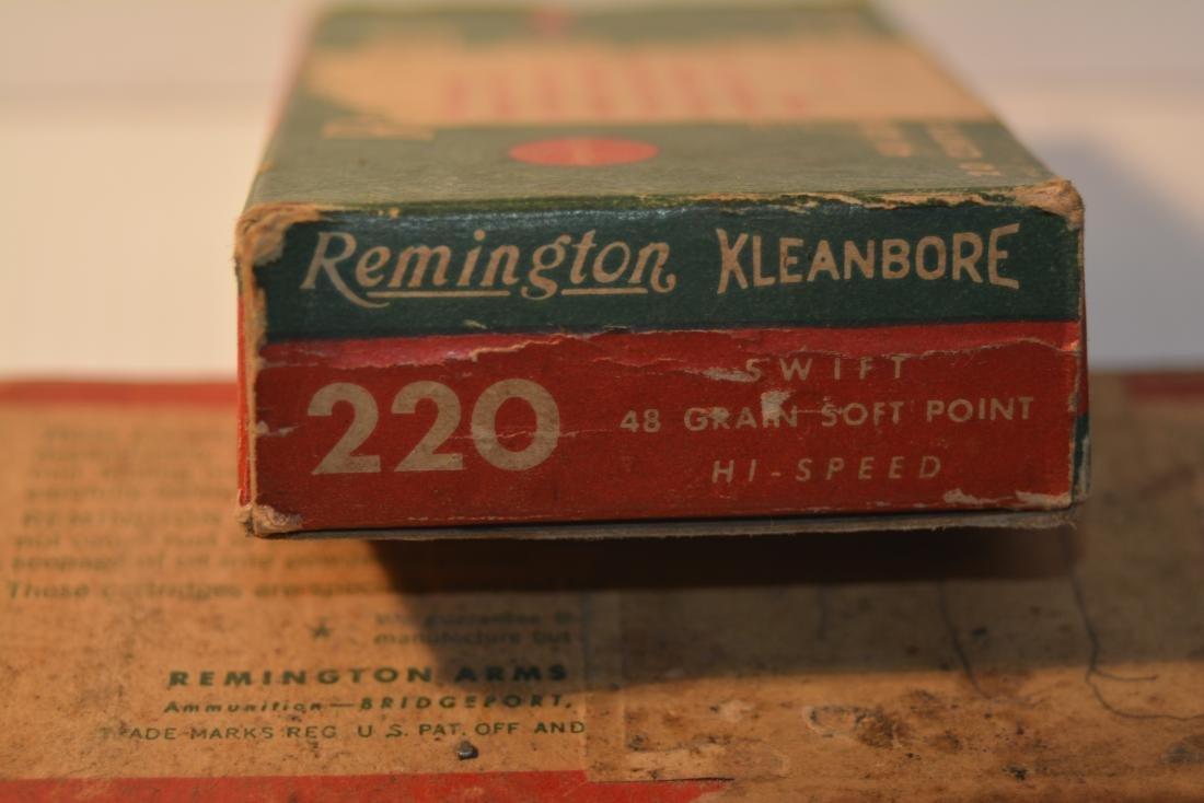 2 BOXES REMINGTON 220 SWIFT - 5