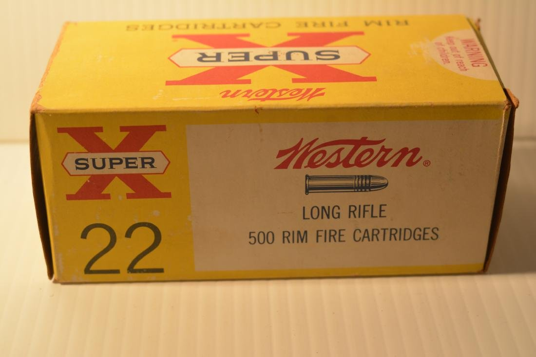 500 ROUNDS WESTERN SUPER X .22  LONG RIFLE