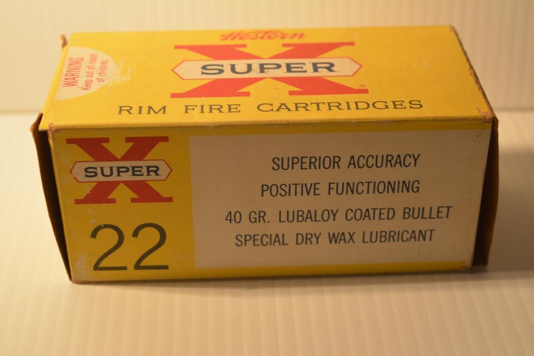 500 ROUNDS WESTERN SUPER X .22  LONG RIFLE - 2
