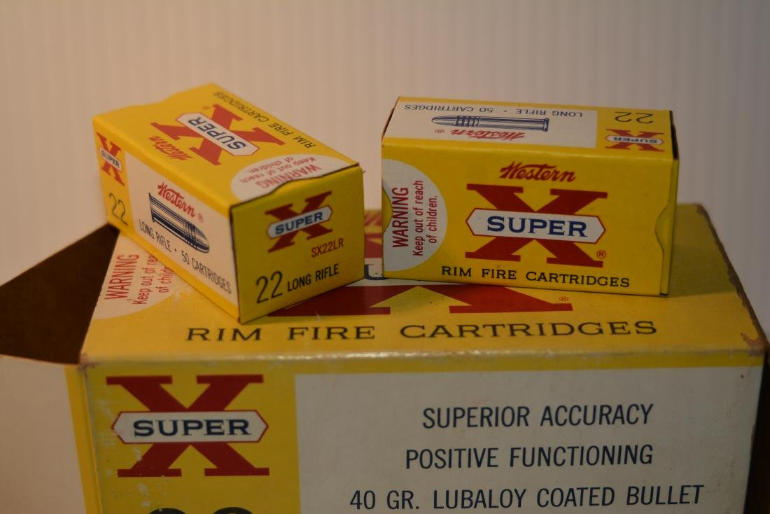 500 ROUNDS WESTERN SUPER X .22  LONG RIFLE - 3