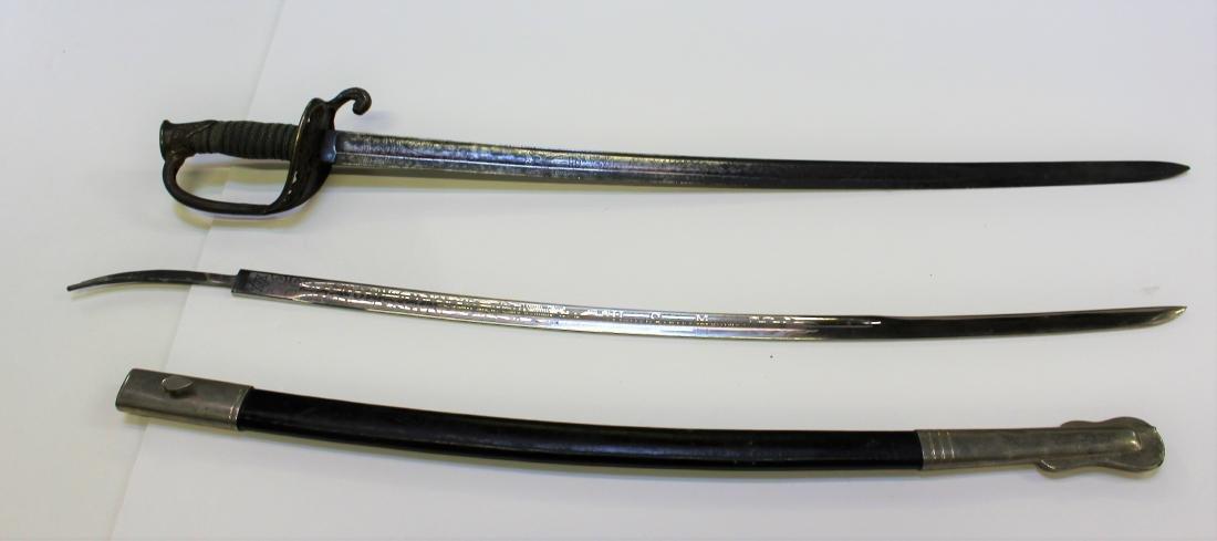 US NAVY & MARINE CEREMONIAL SWORD & BLADE