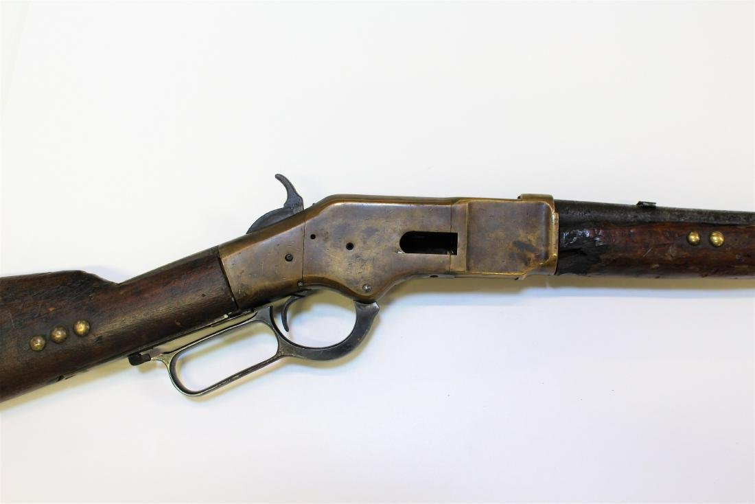 LEVER ACTION HENRY STYLE RIFLE - 9