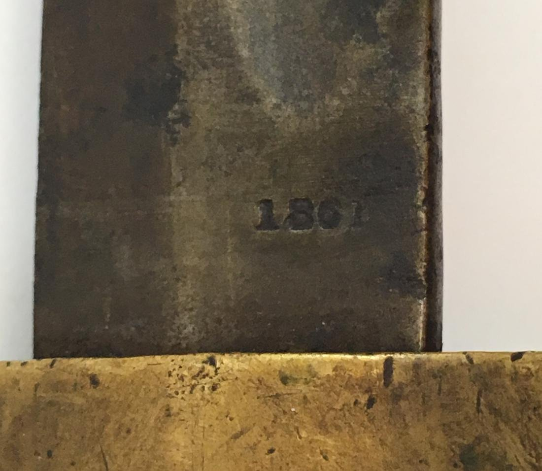 1861 UNION BAYONET KNIFE - 7