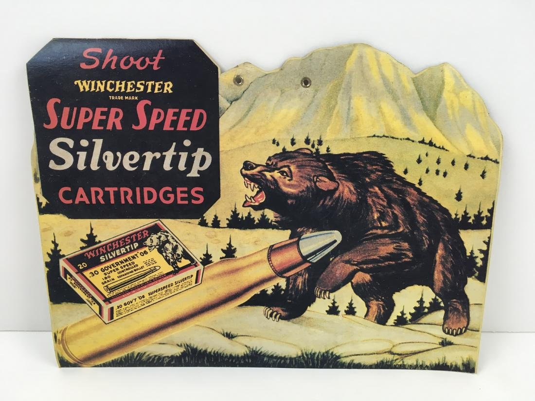 VINTAGE WINCHESTER ADVERTISING LITHOGRAPH
