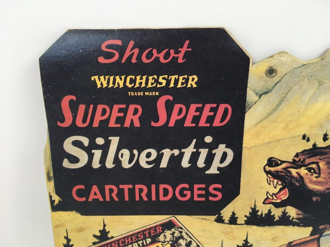 VINTAGE WINCHESTER ADVERTISING LITHOGRAPH - 2