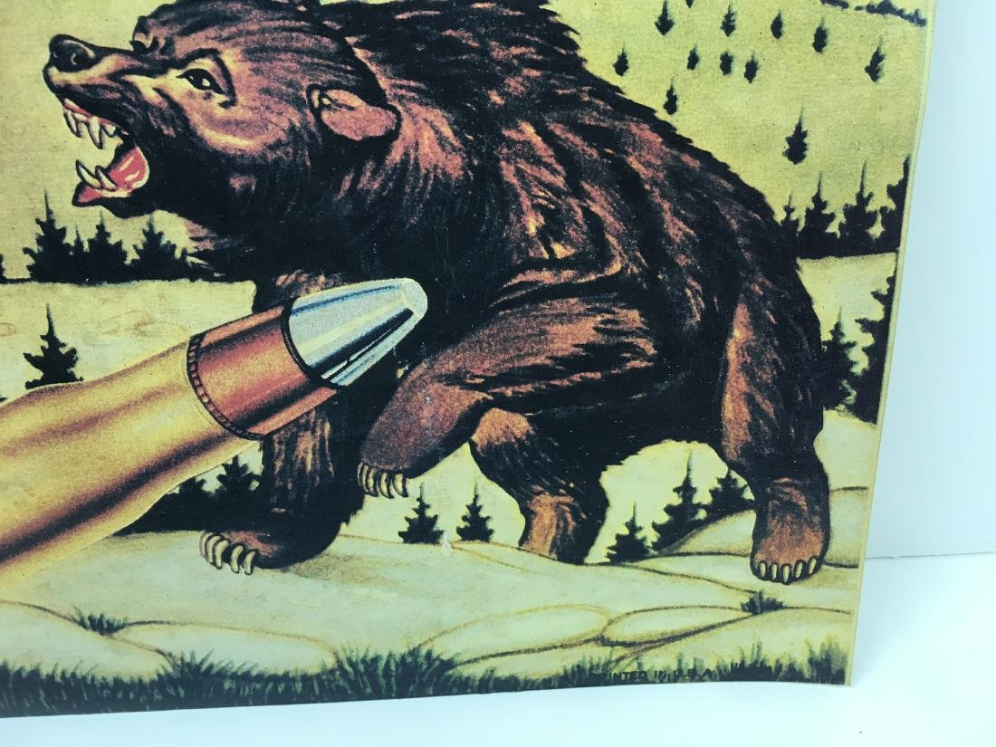 VINTAGE WINCHESTER ADVERTISING LITHOGRAPH - 4