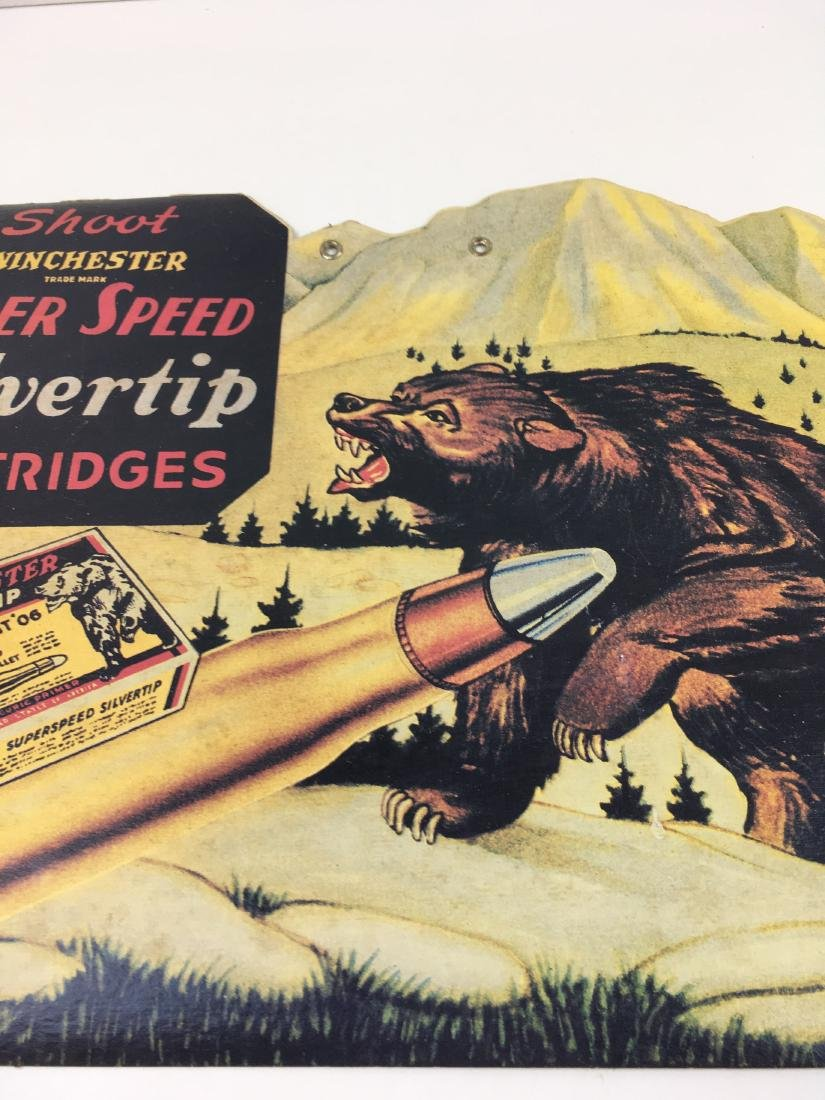 VINTAGE WINCHESTER ADVERTISING LITHOGRAPH - 8