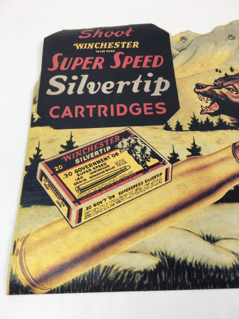 VINTAGE WINCHESTER ADVERTISING LITHOGRAPH - 9