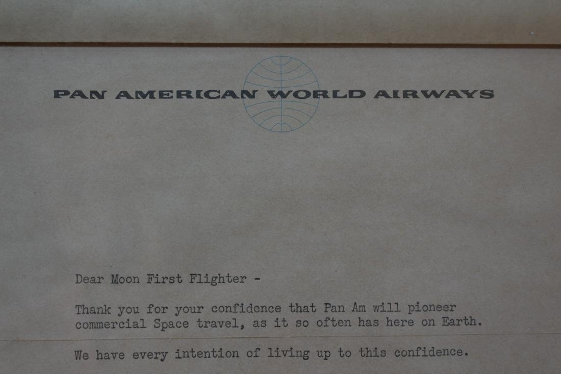 """RARE - """"FIRST MOON FLIGHTS"""" CLUB from PAN AM - 4"""