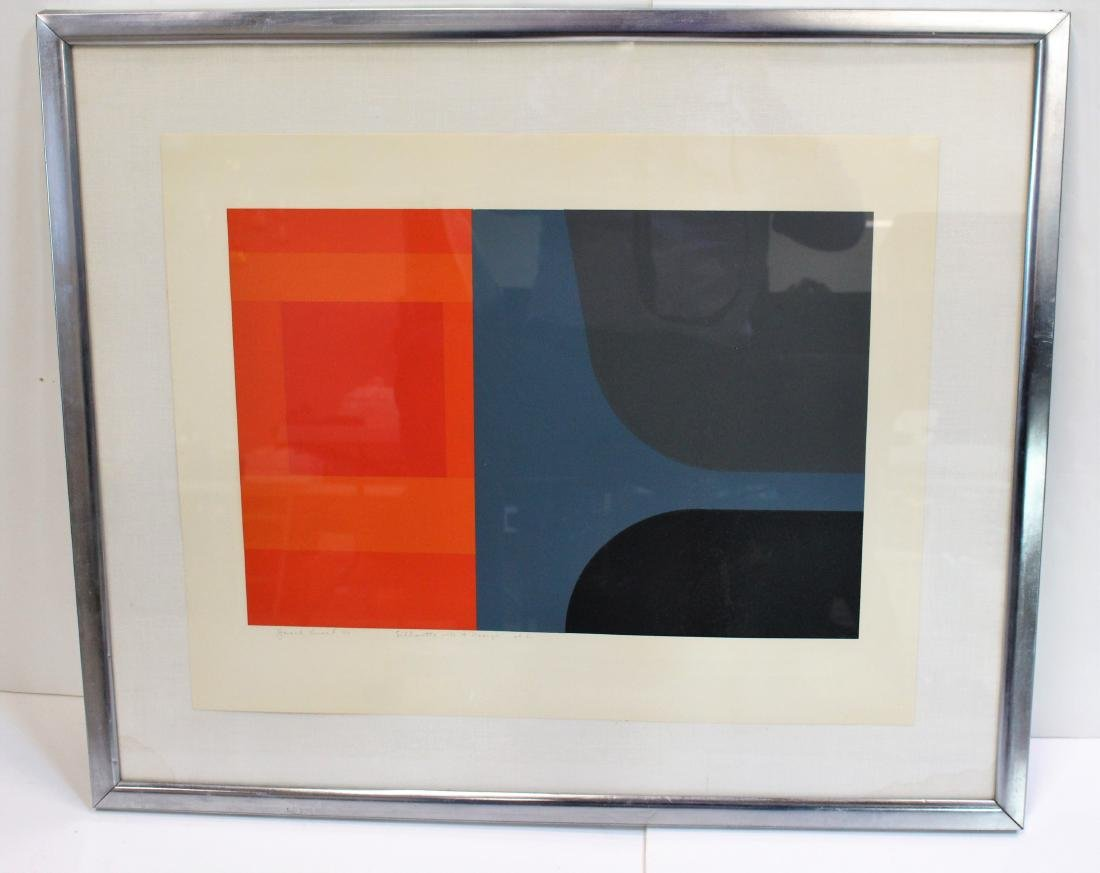 LITHOGRAPH BY HAROLD KRISEL - 2