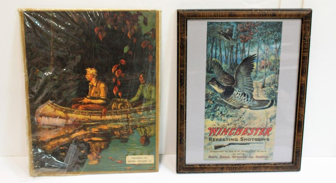 WINCHESTER & WESTERN CARTRIDGE ADVERTISING PIECES