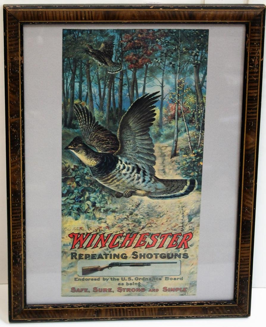 WINCHESTER & WESTERN CARTRIDGE ADVERTISING PIECES - 2