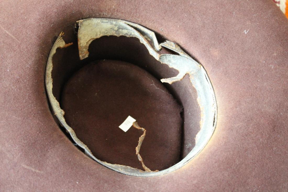 COWBOY HAT, DAN POST BOOTS, 2 BLANKET - 6