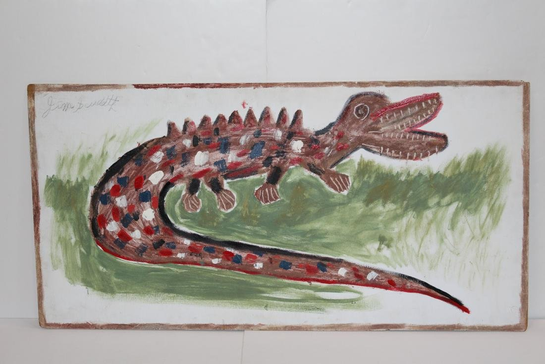 """OLD GATOR"" - BY JIMMIE SUDDUTH - 3"