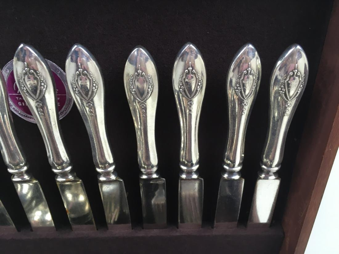 71 PCS OF MOUNT VERNON STERLING FLATWARE BY LUNT - 9