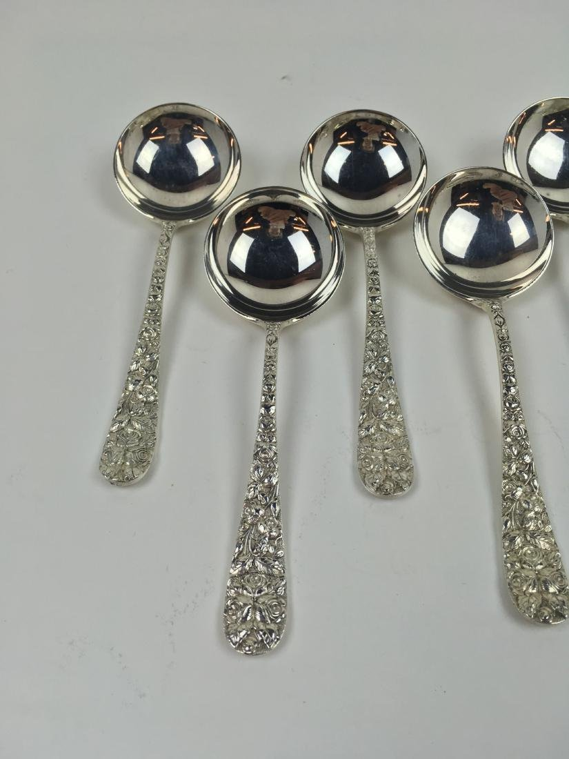 8 PCS OF BALTIMORE ROSE STERLING BY SCHOFIELD - 4