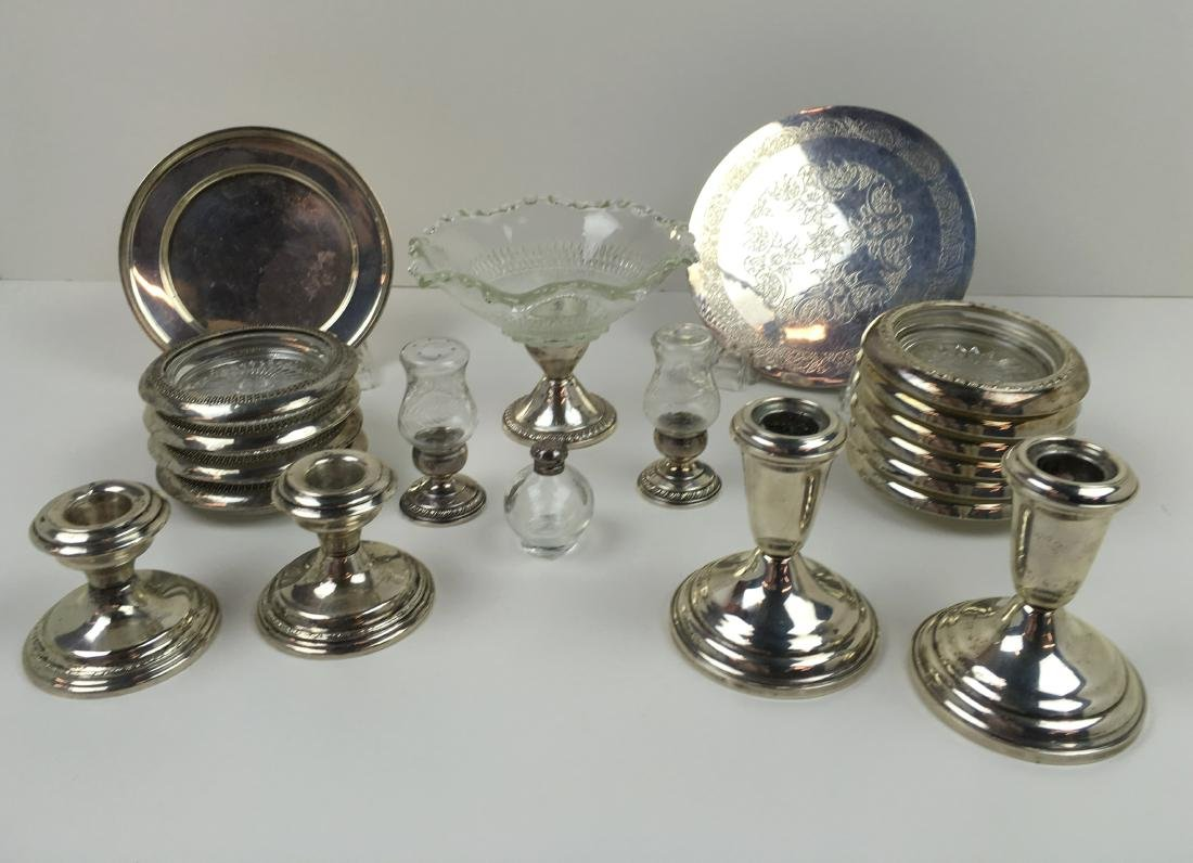 20 PCS OF ASSORTED STERLING SILVER ITEMS