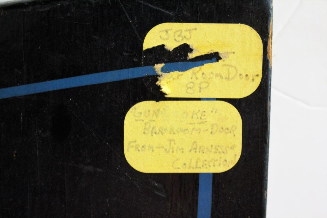 """""""GUNS""""  SIGN - FROM JAMES ARNESS COLLECTION - 5"""