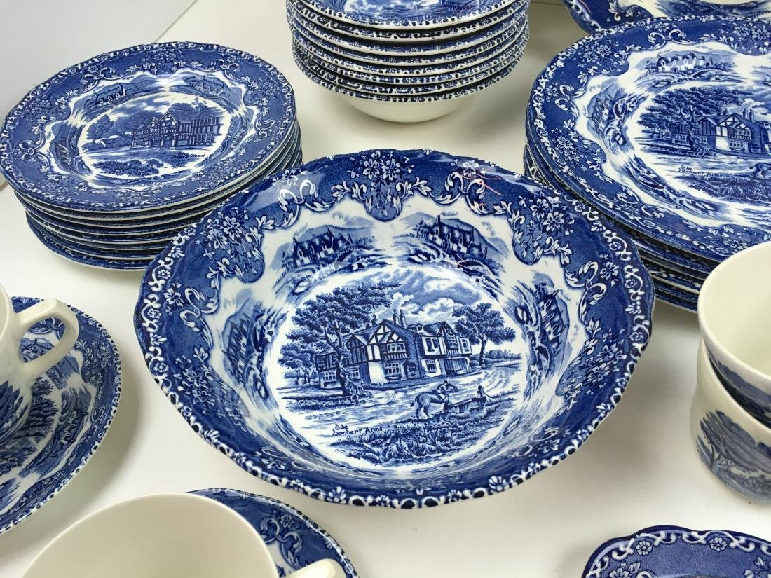 50 PCS -GRINDLEY ENGLISH COUNTRY INNS IRONSTONE - 10