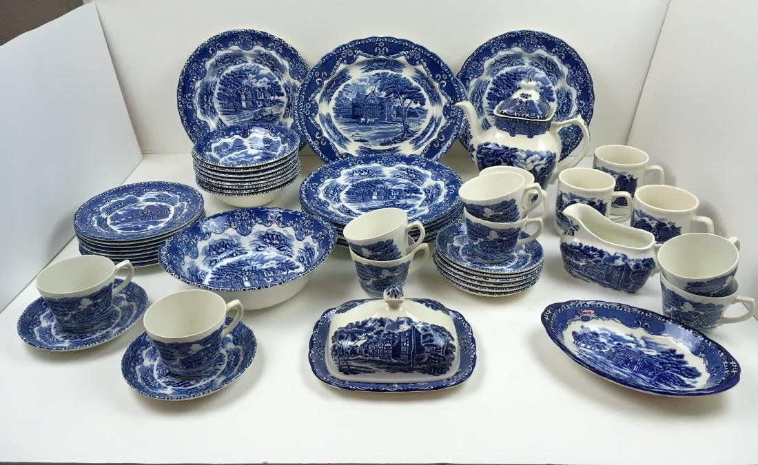 50 PCS -GRINDLEY ENGLISH COUNTRY INNS IRONSTONE