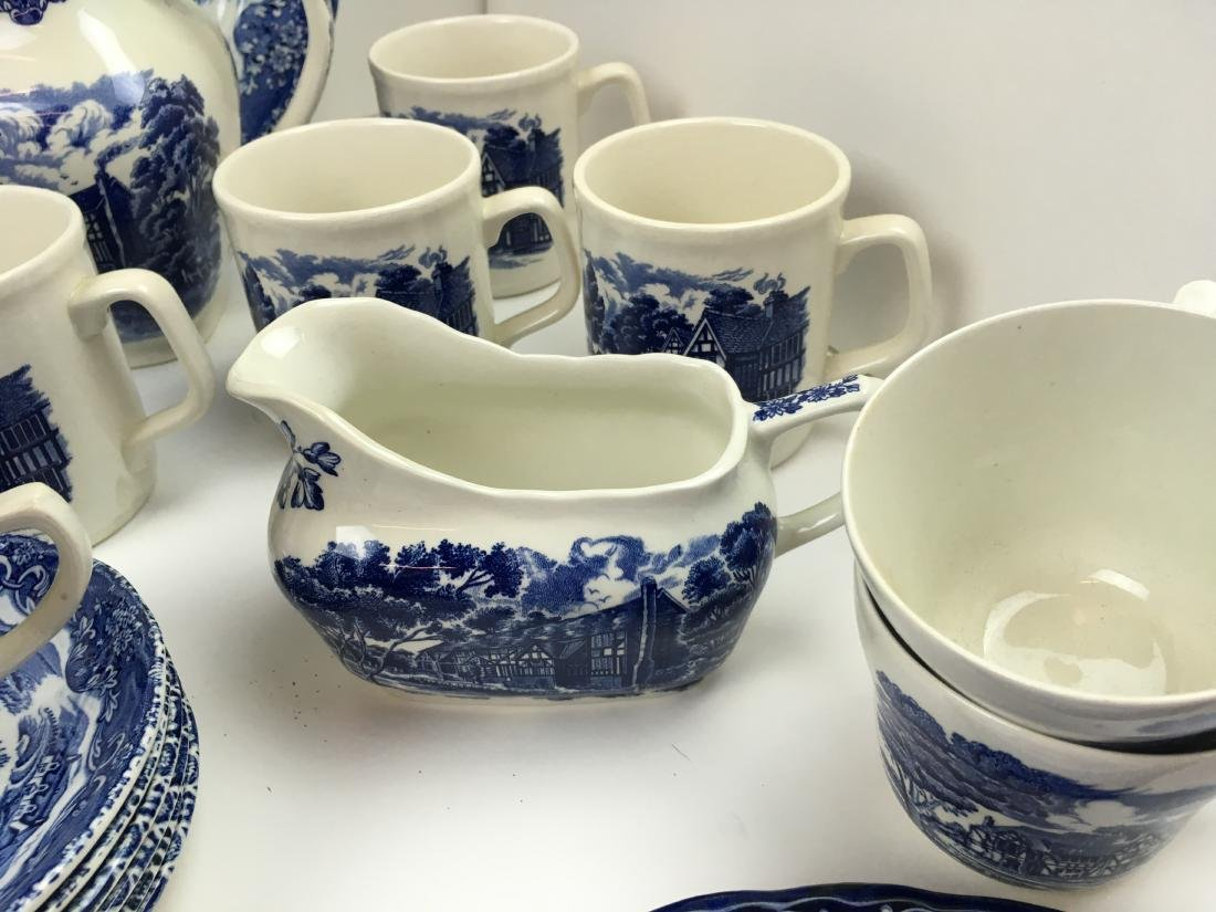 50 PCS -GRINDLEY ENGLISH COUNTRY INNS IRONSTONE - 6