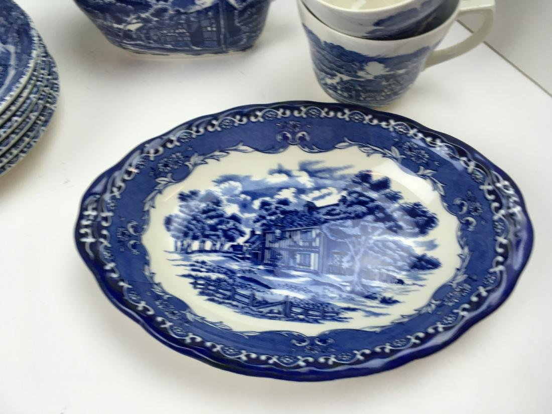 50 PCS -GRINDLEY ENGLISH COUNTRY INNS IRONSTONE - 7