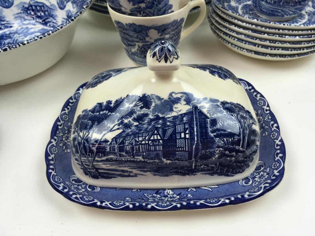 50 PCS -GRINDLEY ENGLISH COUNTRY INNS IRONSTONE - 9