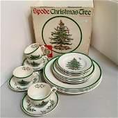 SPODE CHRISTMAS TREE 20 PC STARTER SET
