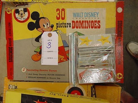 3: Vintage Disney and Picture Dominoes