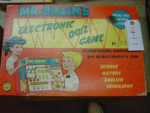 4: Mr. Brain's Electronic Quiz Game