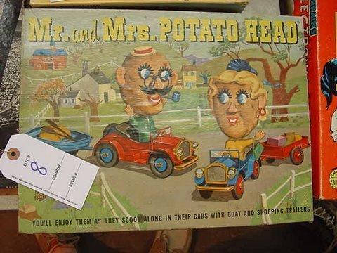 8: Wonderful! Mr and Mrs Potato Head in Box