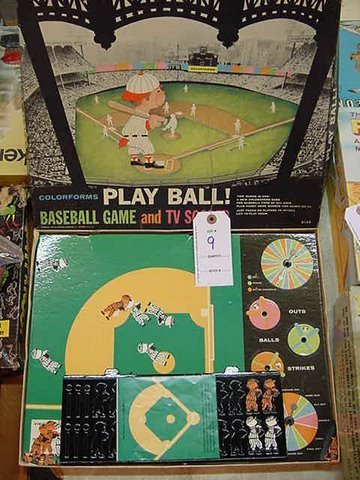 9: Play Ball! By Colorforms - Great Game of the 60's