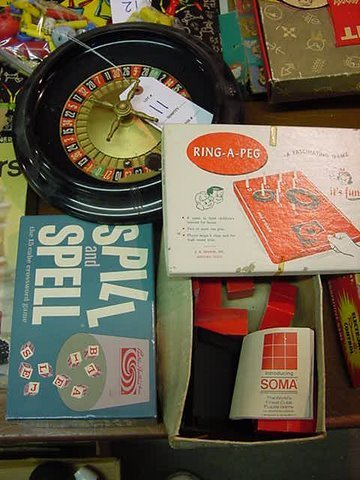 11: Mixed Games - Roulette Wheel - Spill and Spell - SO