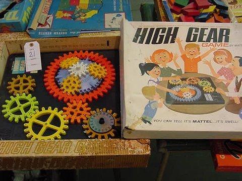 21: Mattel's HIGH GEAR GAME!