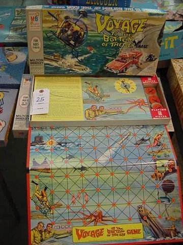 25: Milton Bradley's Voyage to the Bottom of the Sea Ga