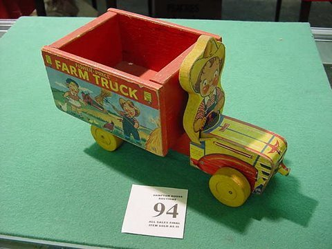 94: Fisher Price Farm Truck with The Campbell Soup Kids