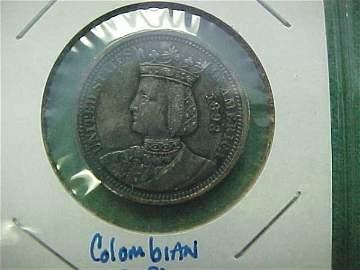 62C: 1893 ISABELLA QUARTER - World Columbian Expo. - Po