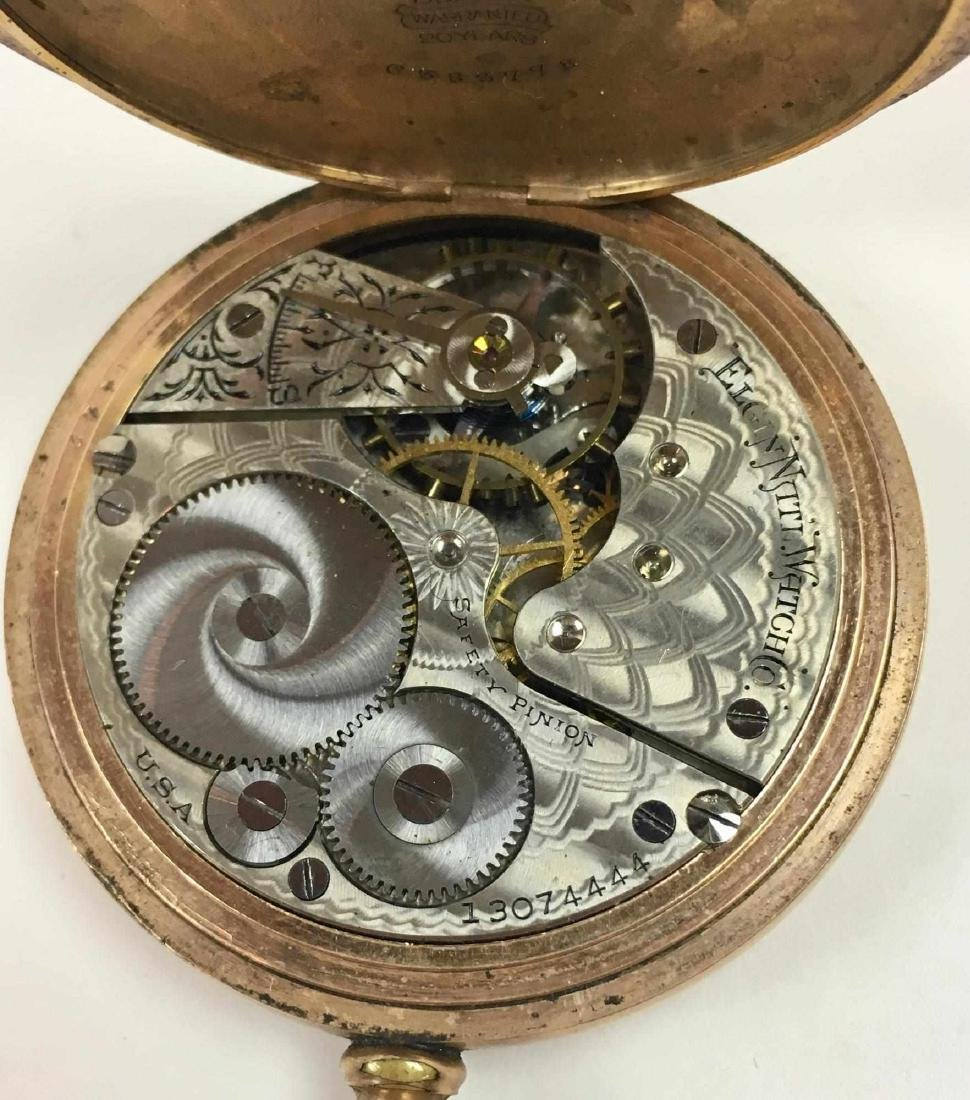 TWO VINTAGE ELGIN POCKET WATCHES - 10