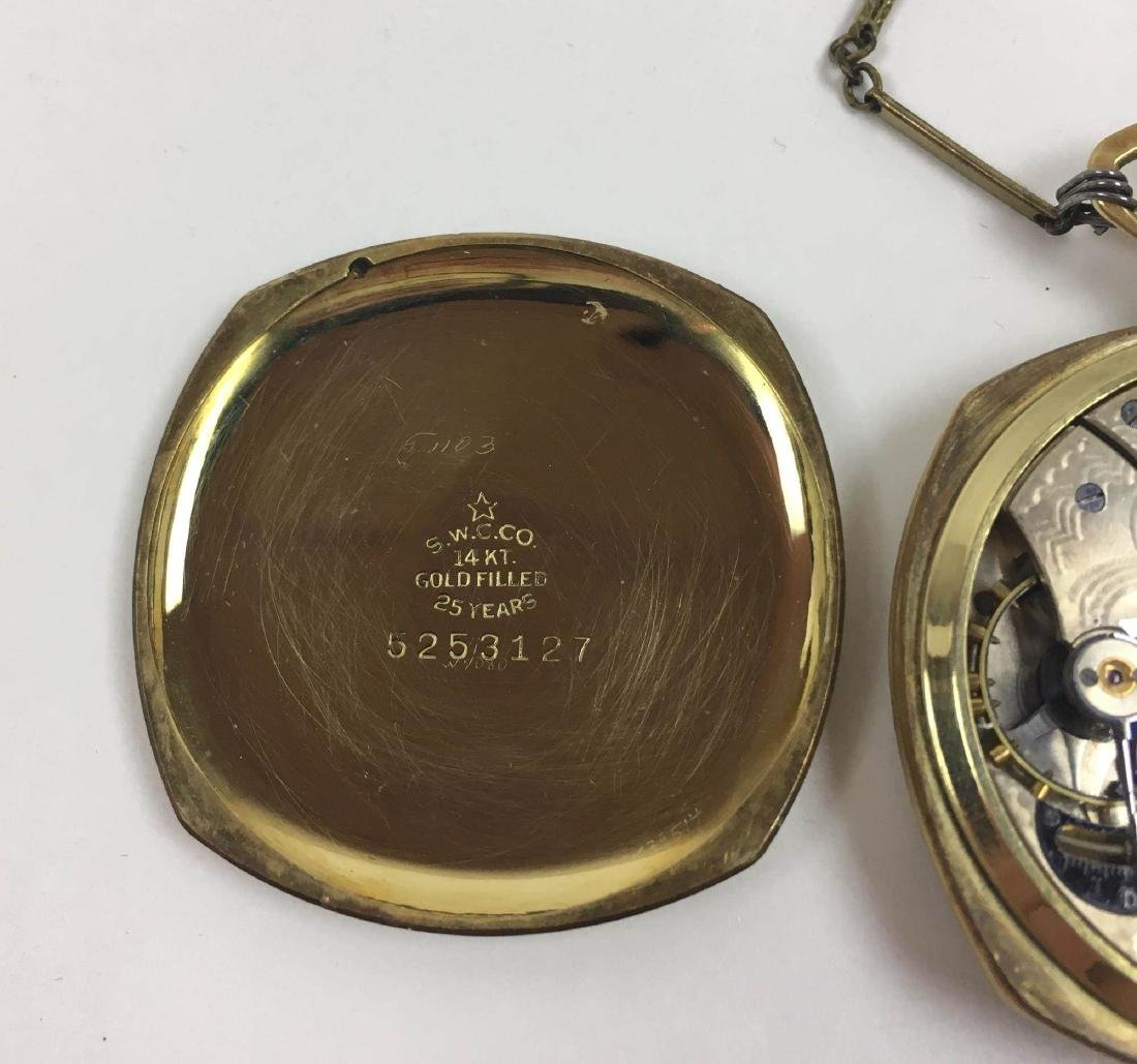 TWO VINTAGE ELGIN POCKET WATCHES - 4