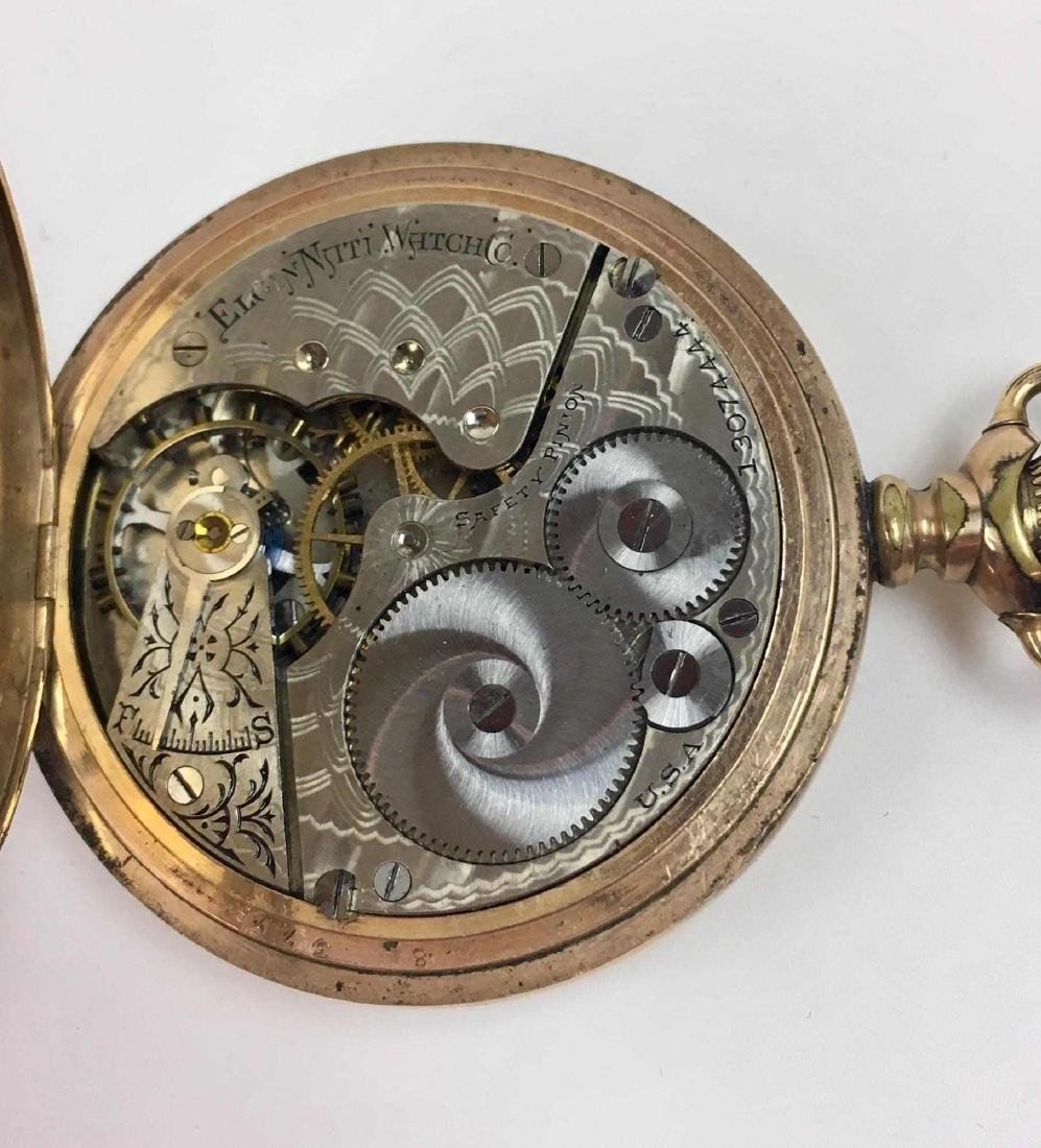 TWO VINTAGE ELGIN POCKET WATCHES - 9